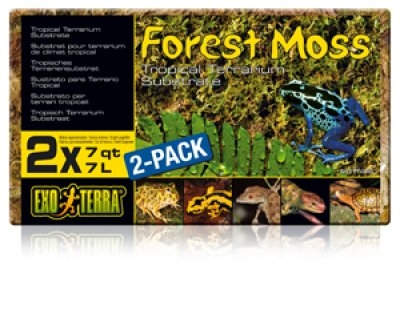 Exoterra Forest Moss 2*7 litraa