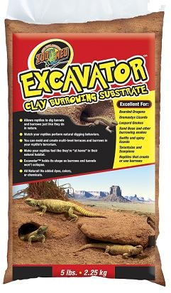 Zoomed Excavator Clay Burrowing Substrate 4.5kg