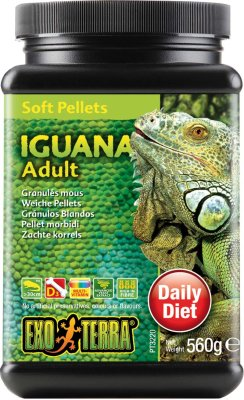 Exoterra Iguana Food Adult Soft 560g