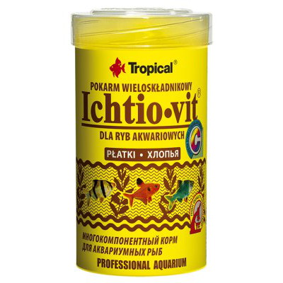 TROPICAL ICHTIO VIT250ML/50G
