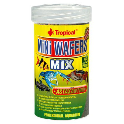 TROPICAL MINI WAFERS MIX 100ML/55G