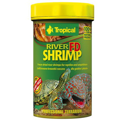 TROPICAL FD RIVERSHRIMP 100ML / 10G