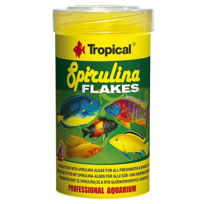 TROPICAL SPIRULINA FLAKES 250ML/50G