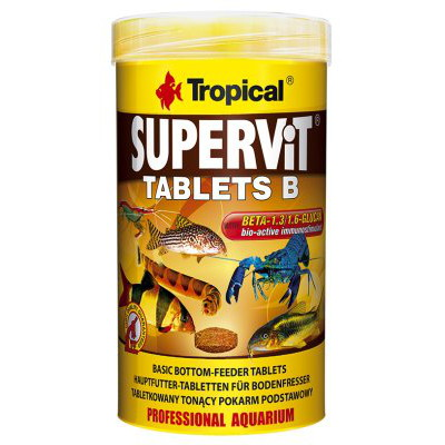 TROPICAL SUPERVIT TABLETS B 250ML/150g 830ST