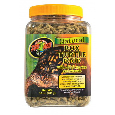Zoomed Natural Box Turtle Food 567g