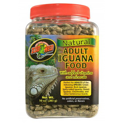 Zoomed Natural Iguana Food Juvenile 567g