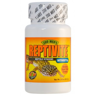 Zoomed ReptiVite without D3 56g