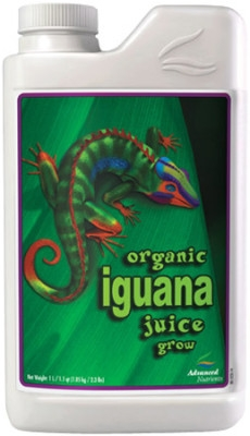 Advanced Nutrients Iguana Juice Organic Grow 1 litra